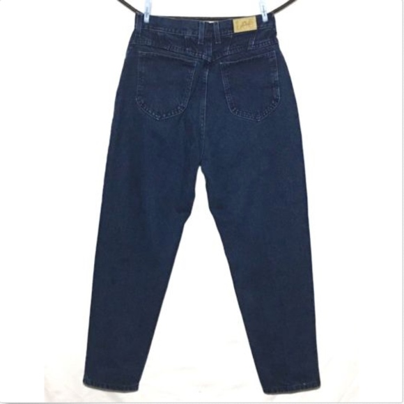 45a8eb30 Lee Denim - Vintage Lee Jeans 28x28 High Rise Mom Jeans 12P